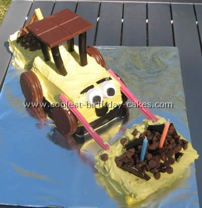 Coolest Construction Cakes and Dump Cake Ideas Birthday cakes