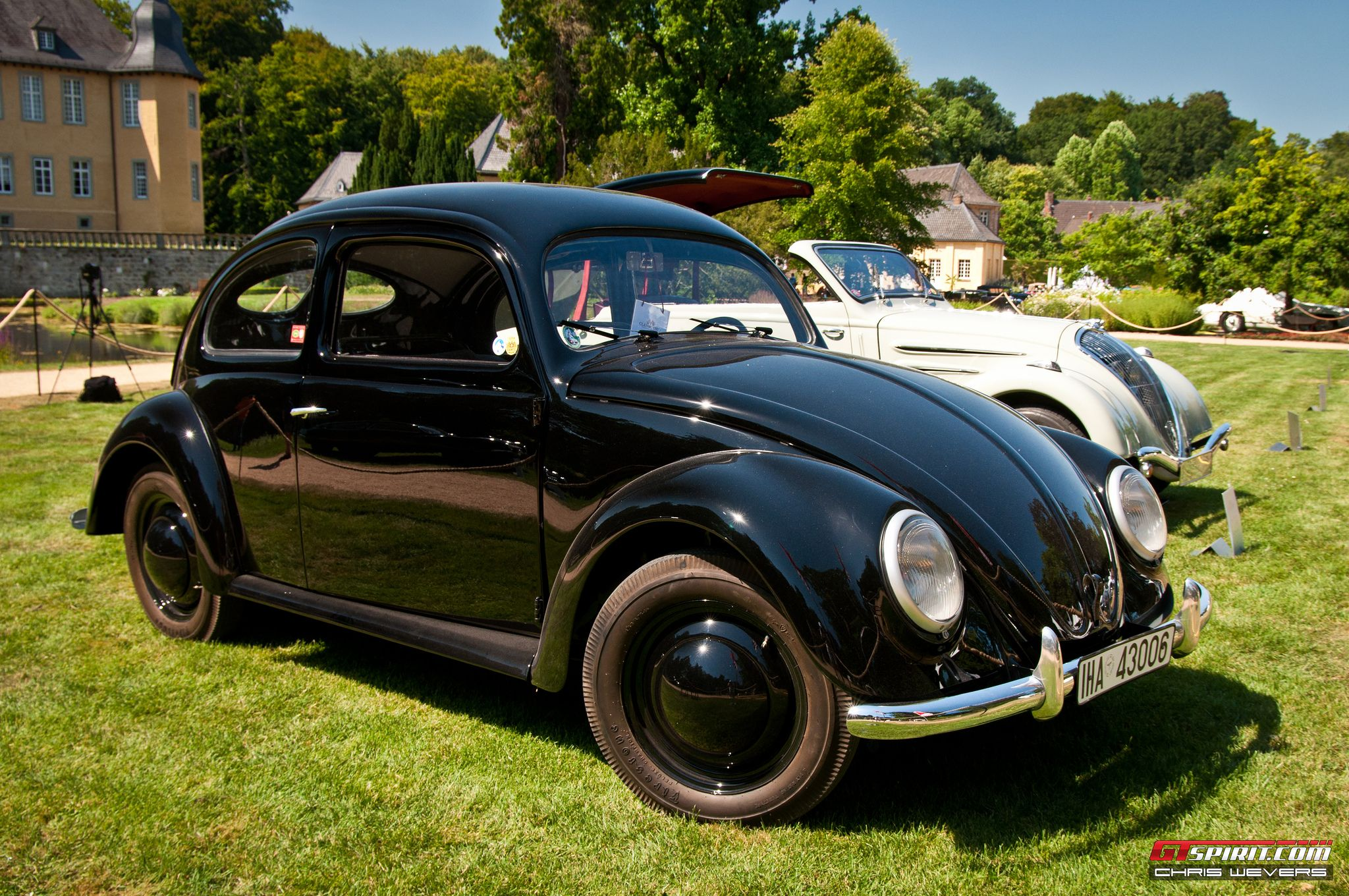 Vw Type 38 Prototype One Of The Oldest Beetle In World Built 1938 By Ferdinand Porsche Black Vw38 Marked Birth Successful