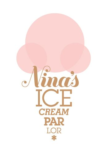 I Like this logo because its very creative. It is shaped like and ice cream and have made the words become a cone. I LOVE this. the letter form is also very clear and beachy.