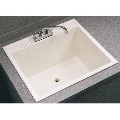 Fiat Drop In Service Sink Laundry Sink Utility Sink Sink