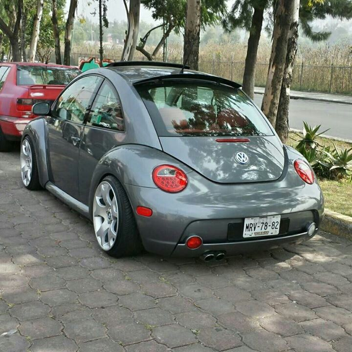 Beetle With Bmw X5 Wheels Vw New Beetle New Beetle Volkswagen New Beetle