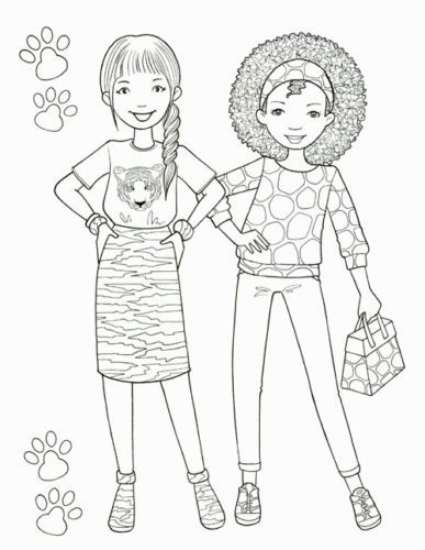 details about princess fashion coloring book girl art