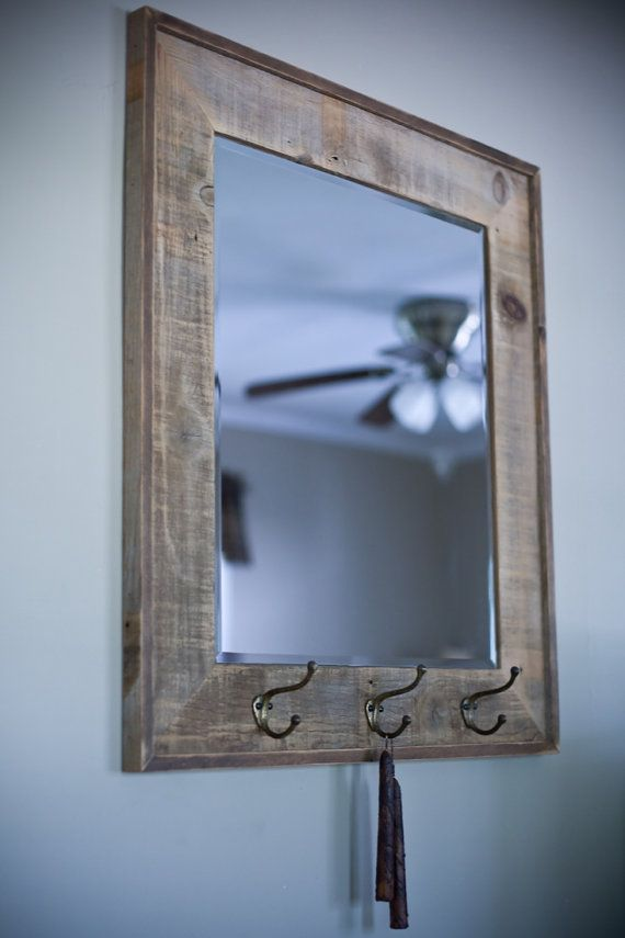 Espejo con marco Barnwood reciclada | For the Home | Pinterest ...