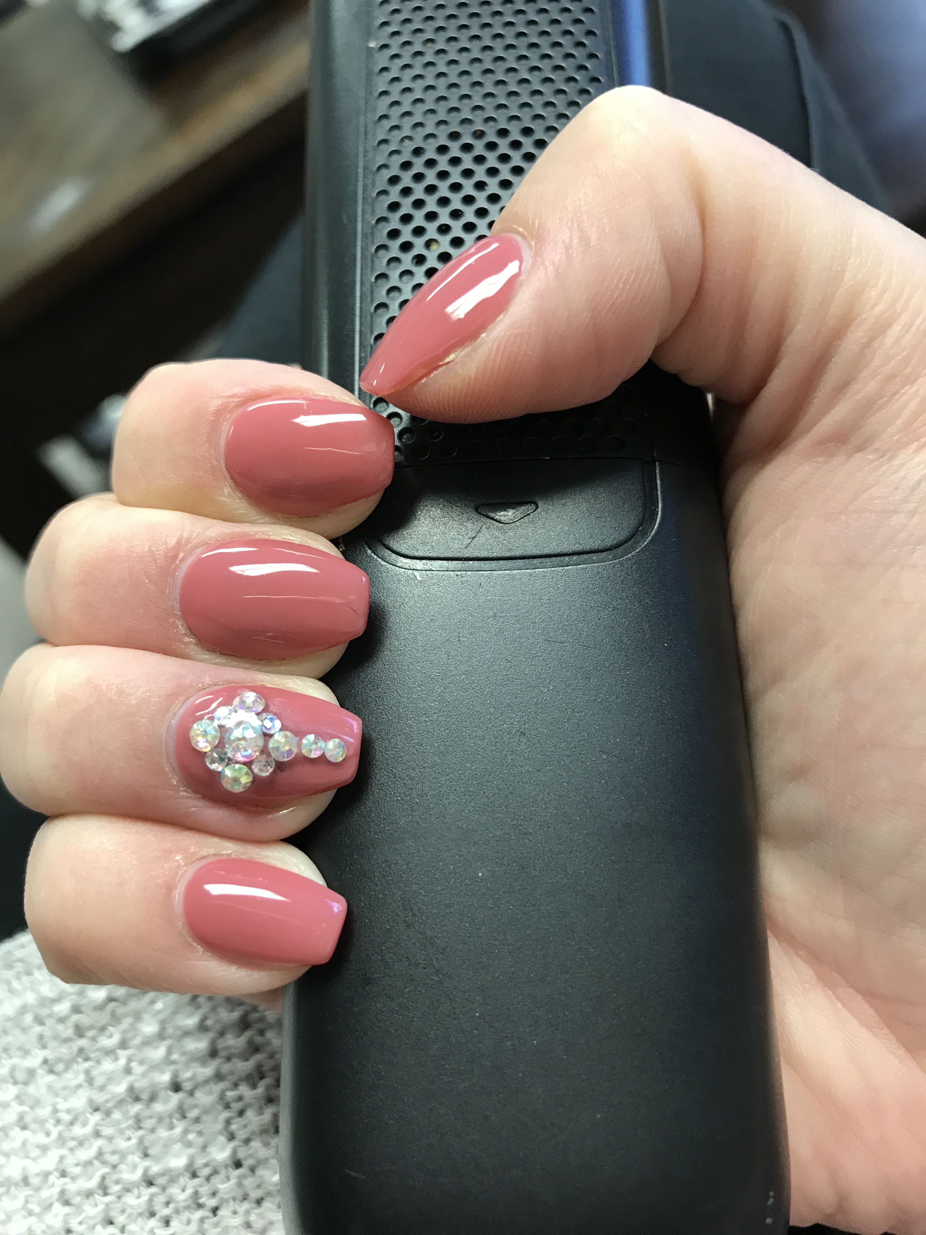 DND 490 Redwood City Nude color nails, gel manicure. Nude and ...