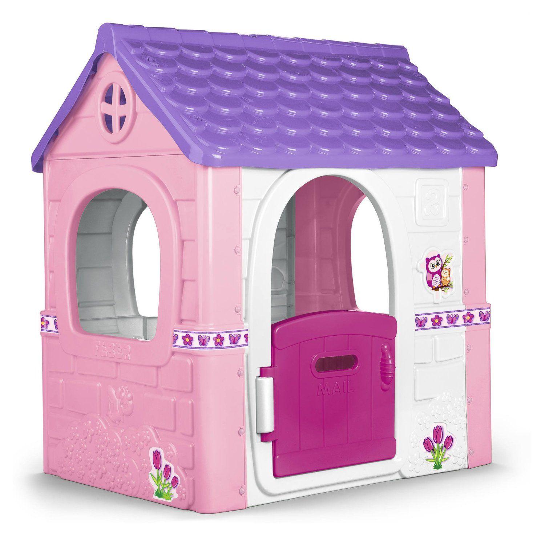 Ff5575 casitas de juguete de pl stico para exterior for Casas de plastico para jardin