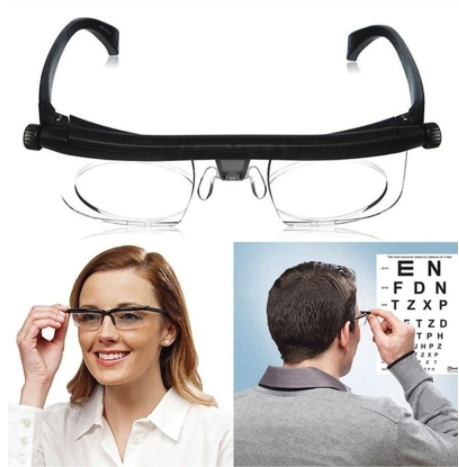 Brille Einstellen