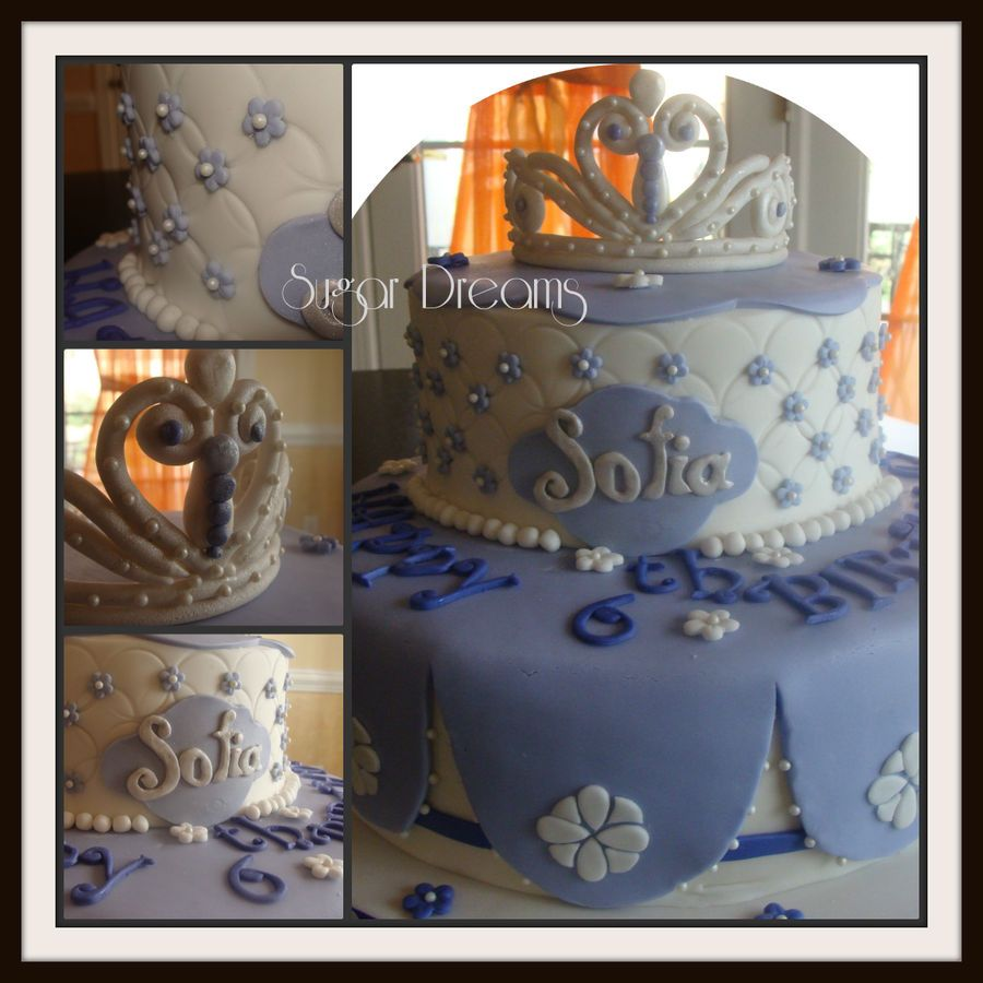 Sofia the first Cake Gorgeous!