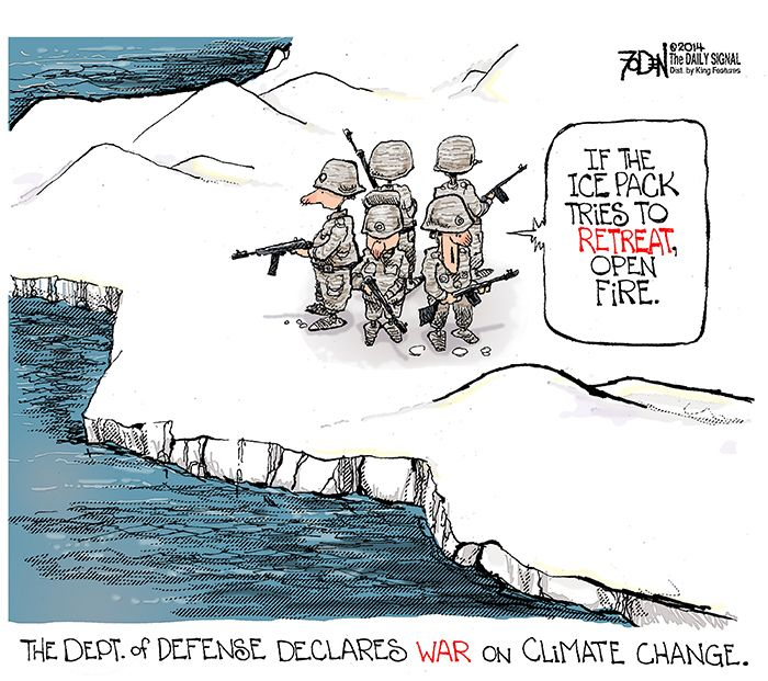 Cartoon: Misplaced Priorities