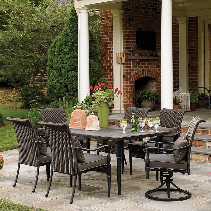 Country Living Gladstone 7 Piece Dining Set Sears Outlet