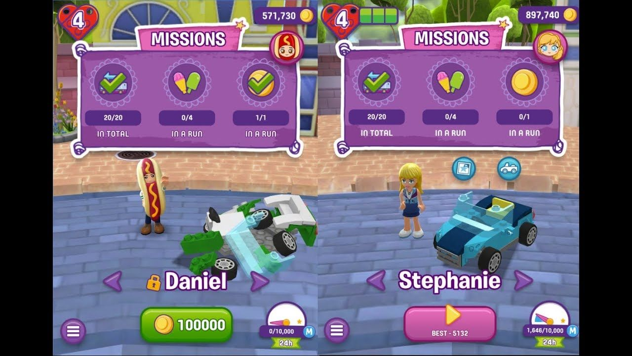 Lego Friends Heartlake Rush Unlocked New Vehicles Lego App For