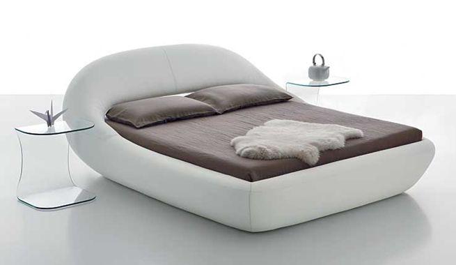 Diseño moderno y minimalista para la cama de matrimonio Rooms - mueble minimalista