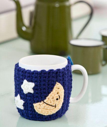 Good Night Mug Hug Crochet Pattern | Red Heart | Food for thought ...