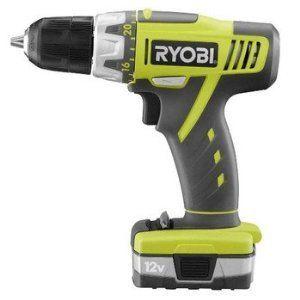 Ryobi Zrhjp002k 12v Lithium Ion Drill Kit Power Tools