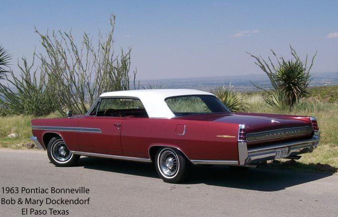 1963 Pontiac Bonneville Pontiac Bonneville Pontiac Cars Classic Cars