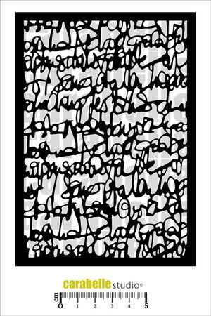 Stone Wall Carabelle MA60053 Mask Stencil A6 Mur en Pierres