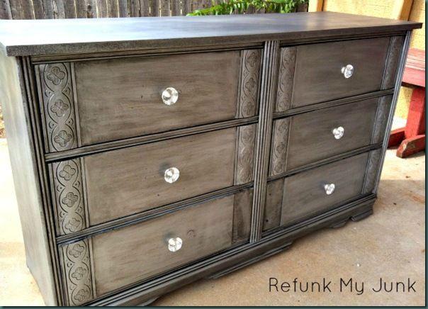 M s de 25 ideas incre bles sobre aparador de plata en pinterest muebles pintados color plata - Muebles pintados en plata ...