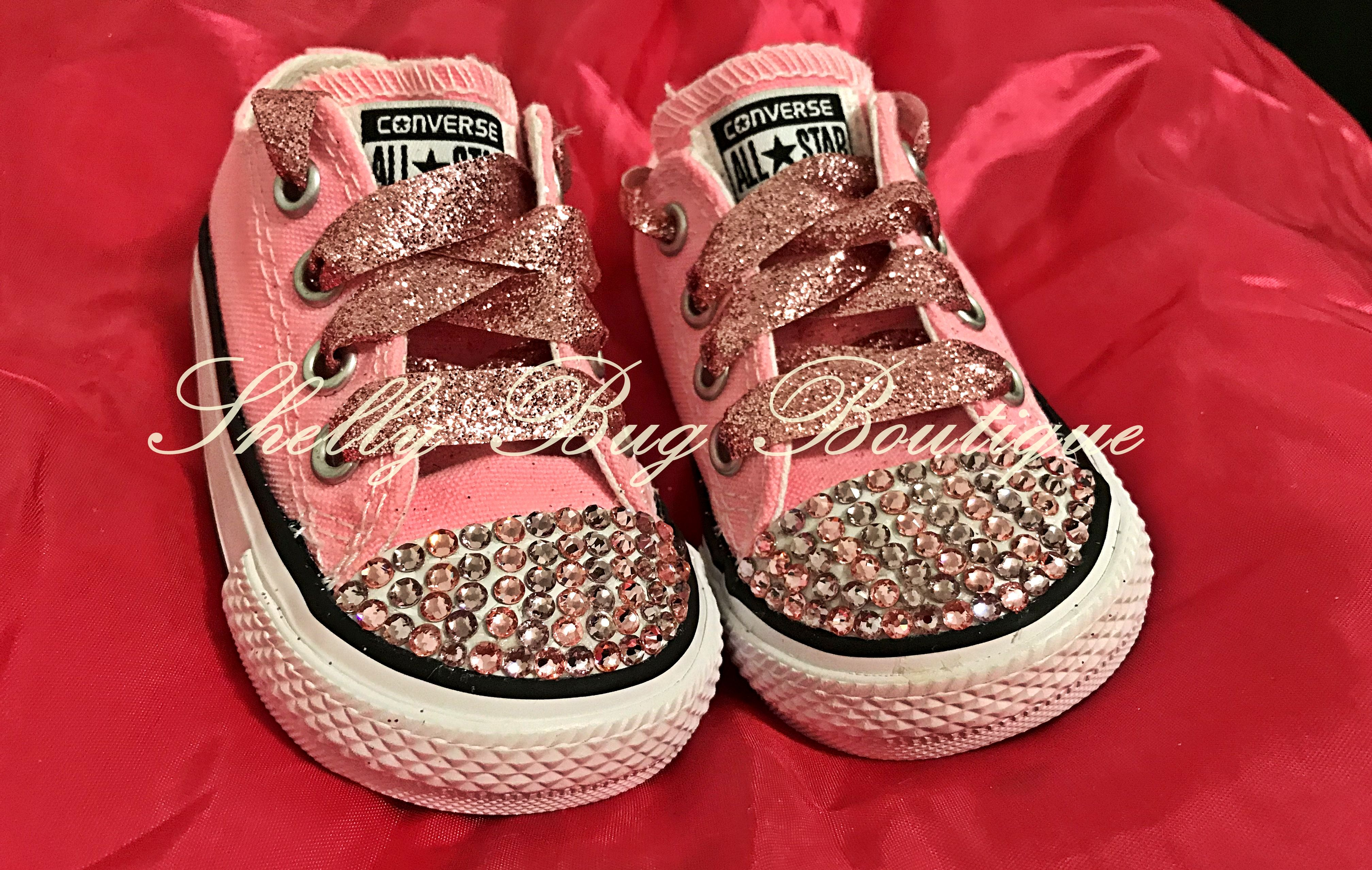 bfb3927b30b2a You Design Swarovski Toddler Converse Shoes, Chuck Taylor All Star ...