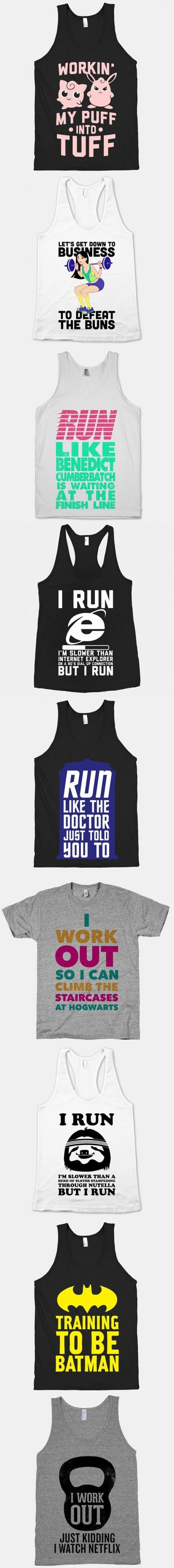 Workout shirts you did not know you wanted.