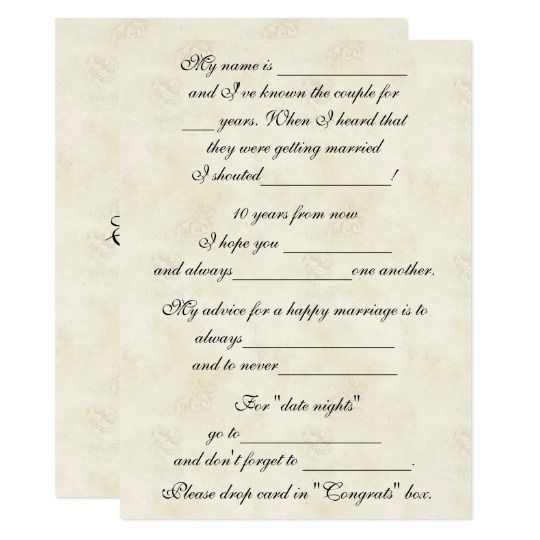 cute funny marriage advice for bride groom card