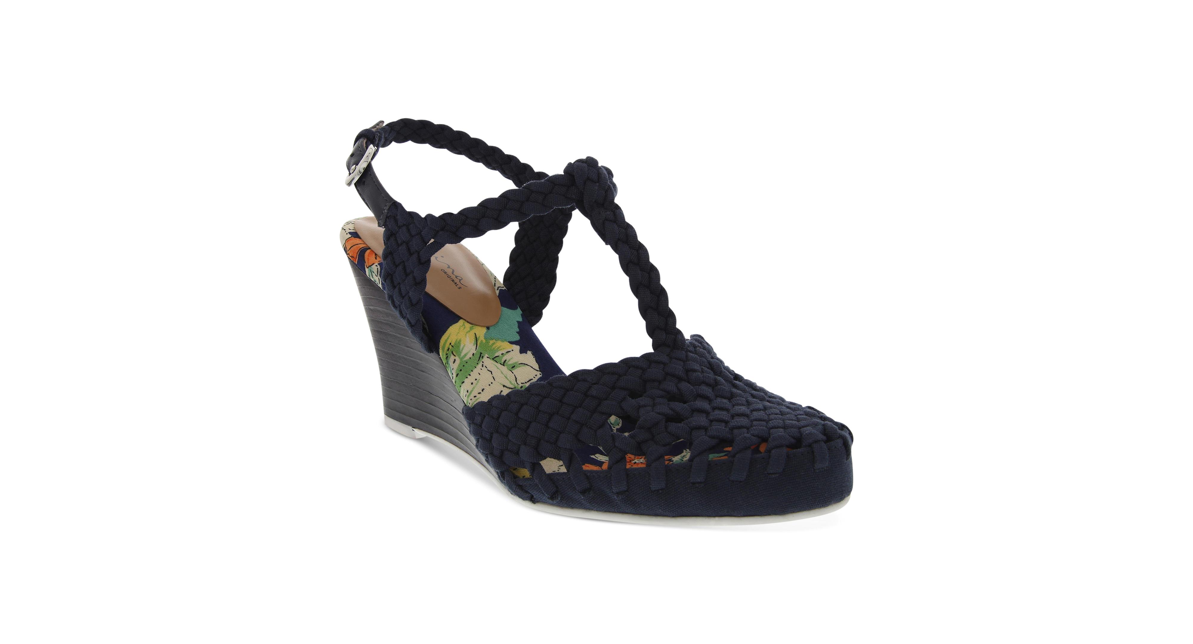 Nina Originals Matrix Wedge Sandals