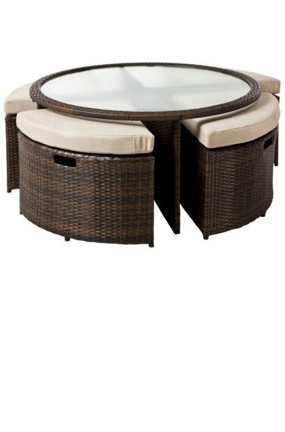 Coffee Table With Ottoman Underneath Patio Furniture