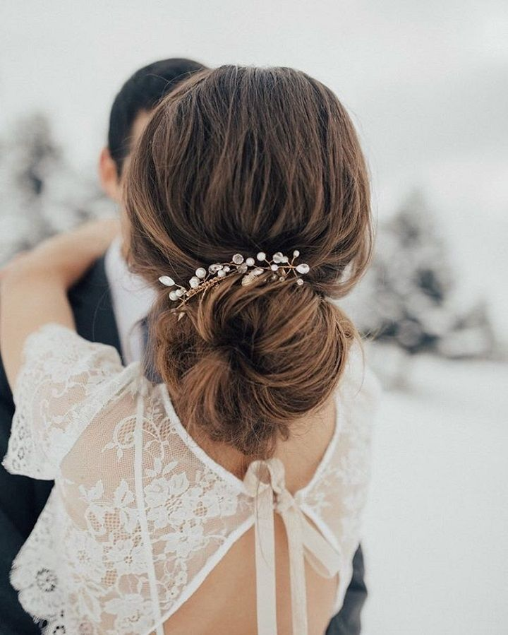 Beautiful Wedding Hairstyle For Long Hair Perfect For Any: Beautiful Loose Wedding Updos Hairstyles Perfect For Any