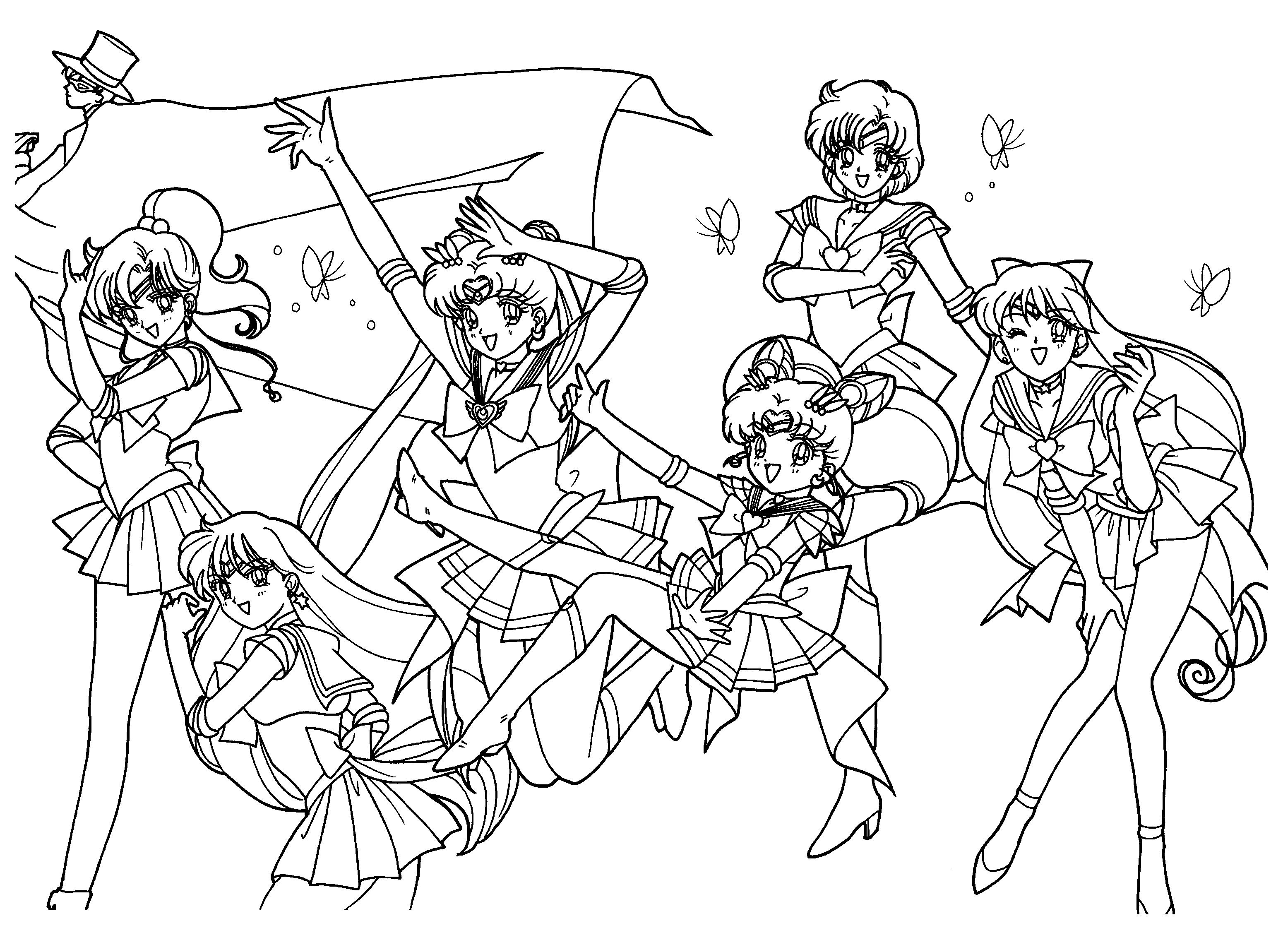 sailor moon coloring pages to print 4jpg
