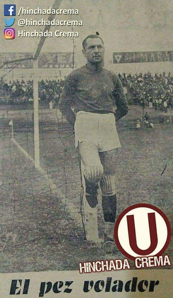 CARLOS GANOZA, arquero de @Universitario desde 1941 hasta 1946 ...