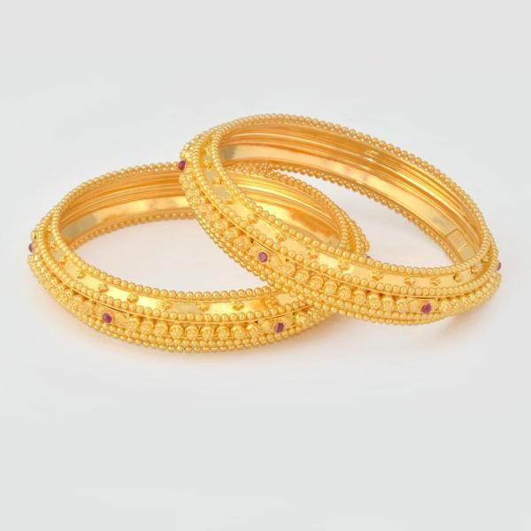 Jewellery Gold Bangles Kangans Tode Fem Gallery