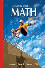 McDougal Littell Middle School Math, Course 1