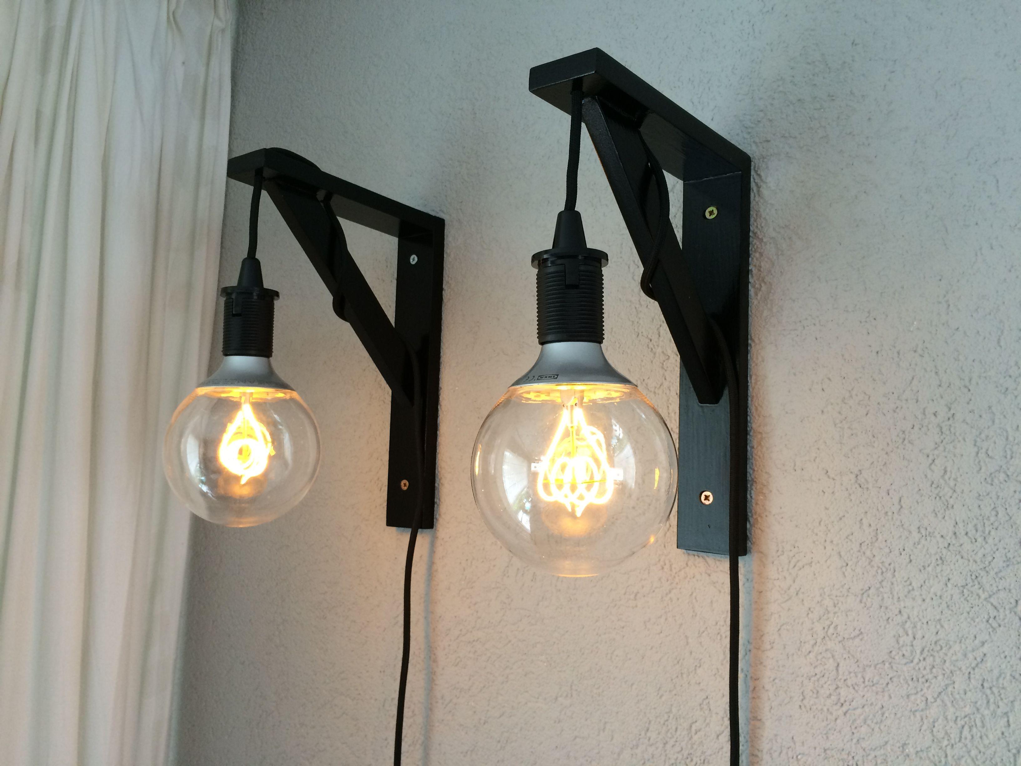Hanglampen Gemaakt Met De Ikea Nittio Ledlamp Ikea Hacks