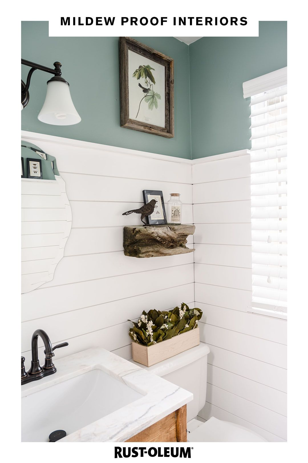 Don T Mull Over The Possibility Of Mildew After You Ve Finished Painting Something Zinsser Perma White M Bathrooms Remodel Bathroom Inspiration Bathroom Decor