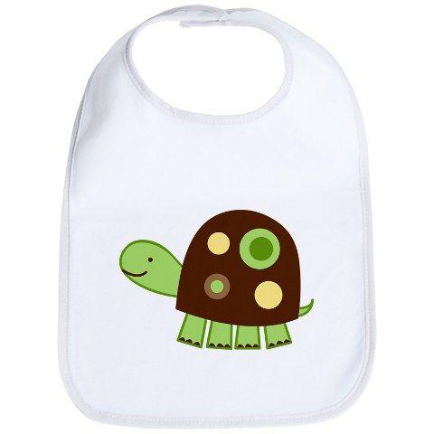 Laguna Turtle Bib Baby Bib
