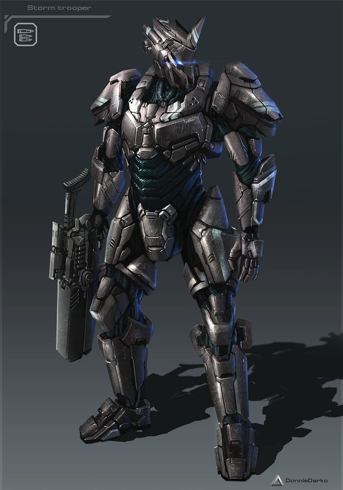 Battle Armor Armor Sci Fi Fantasy Armor Knight Armor
