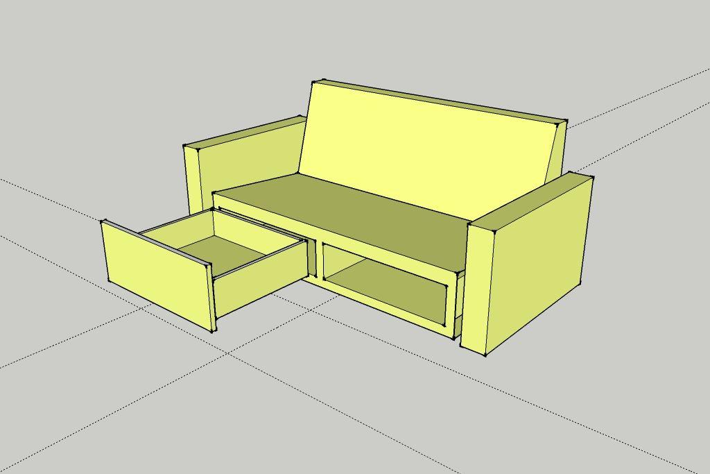 Surprising Diy Sofa With Drawers In 2019 Diy Sofa Diy Home Furniture Inzonedesignstudio Interior Chair Design Inzonedesignstudiocom