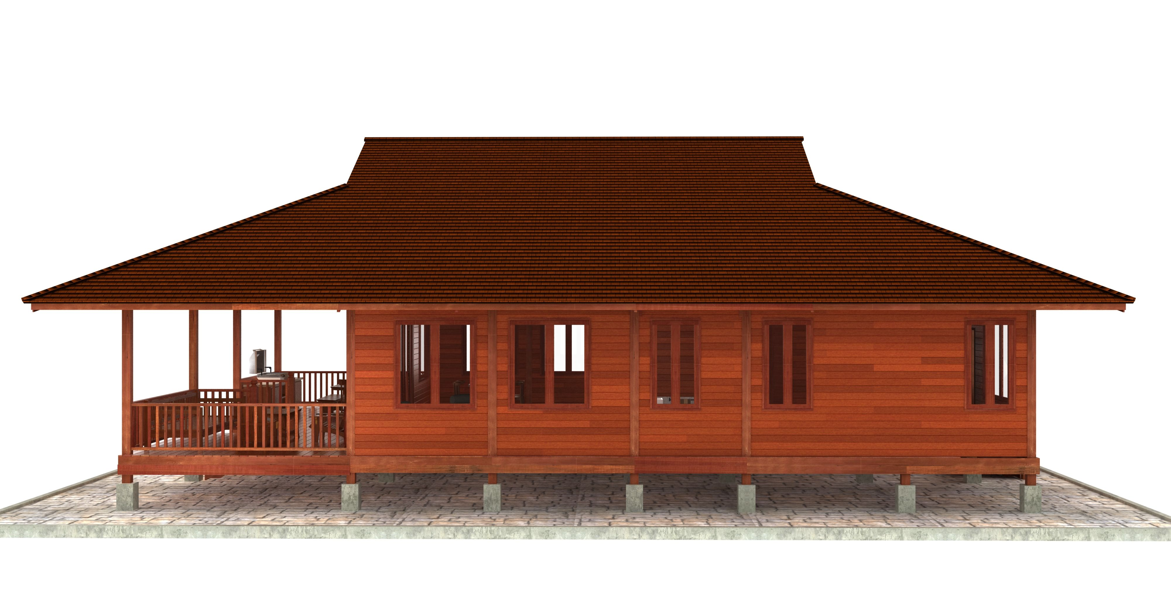 Hawaii Floor Plans Our Talented Design Team Can Realize Your Vision We Create Innovative Bali Sty Tropical House Design Small House Design Wood House Design