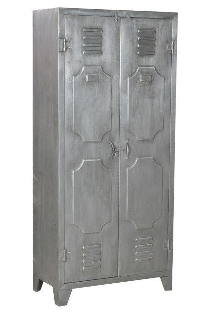 Schrank Aus Eisen Industrial Chic Industrielle Möbel Bei