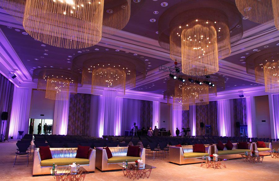 hotels resorts luxurious colorful hotel interior design in kuwait extra luxurious conference room - Purple Hotel Decor