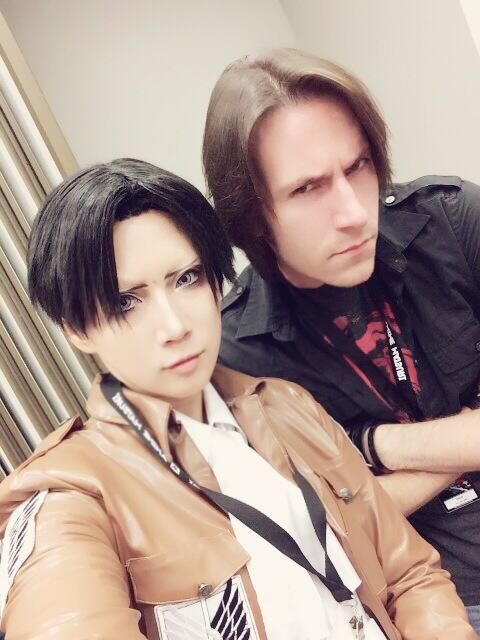 Amazing Levi Cosplay And Matthew Mercer Levis English Voice Actor