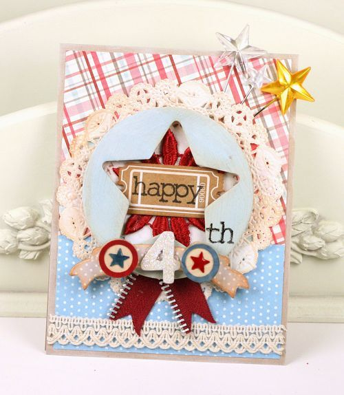 Oh My Stars! | Cards, Mini albums, Independence day