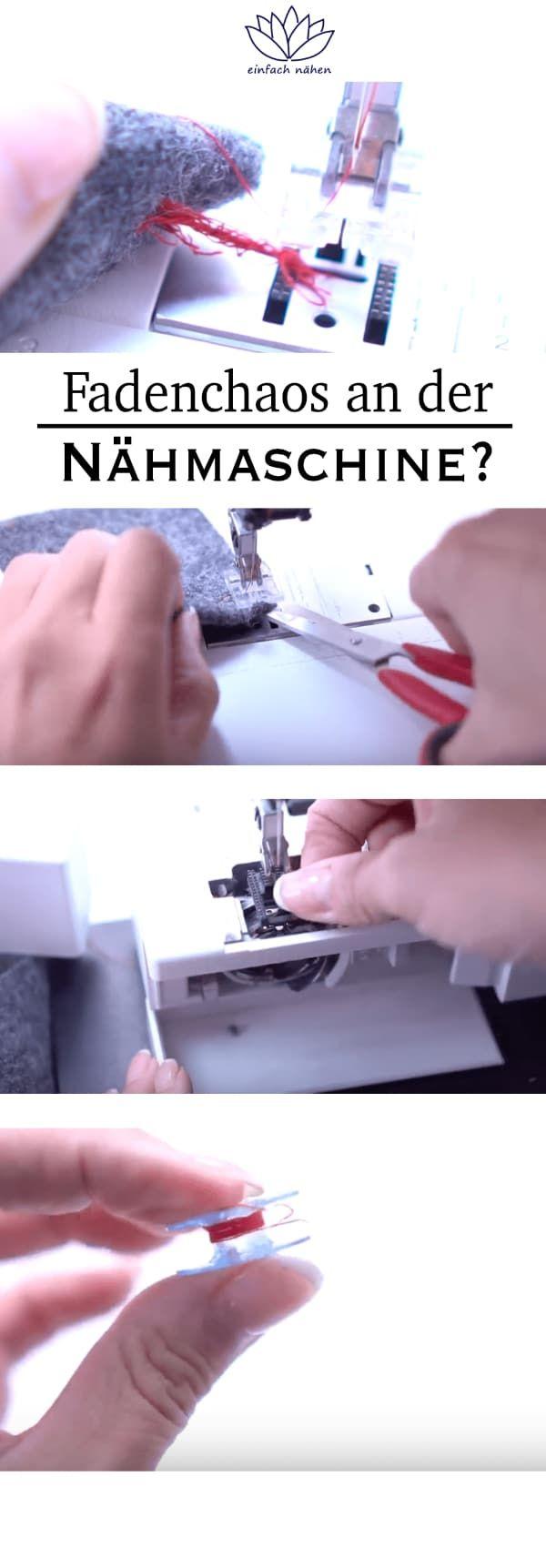 Photo of Fadenchaos an der Nähmaschine – 3 wertvolle Tipps | EINFACH NÄHEN | PREMIUM | INSPIRATION |