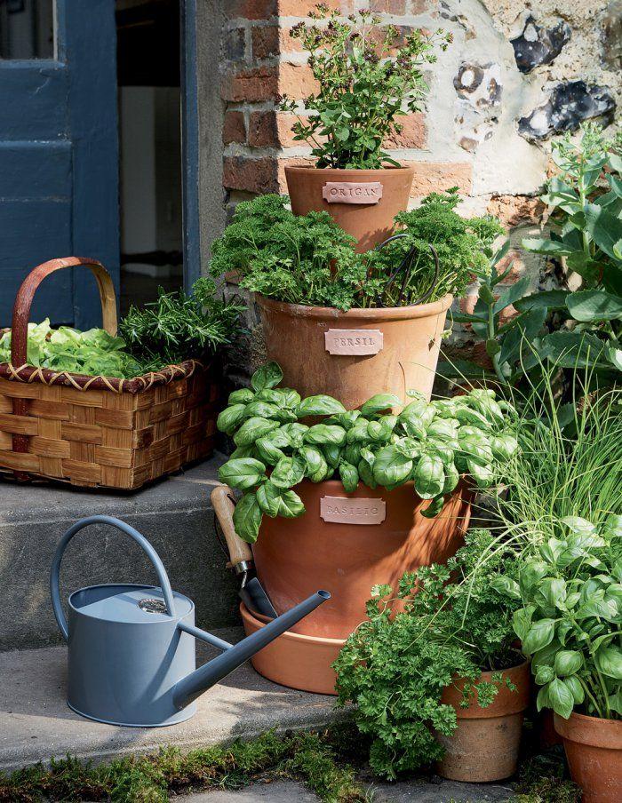 9130e3d4ff74e4 Fabriquer une jardinière pour vos plantes aromatiques !   Botanicals ...