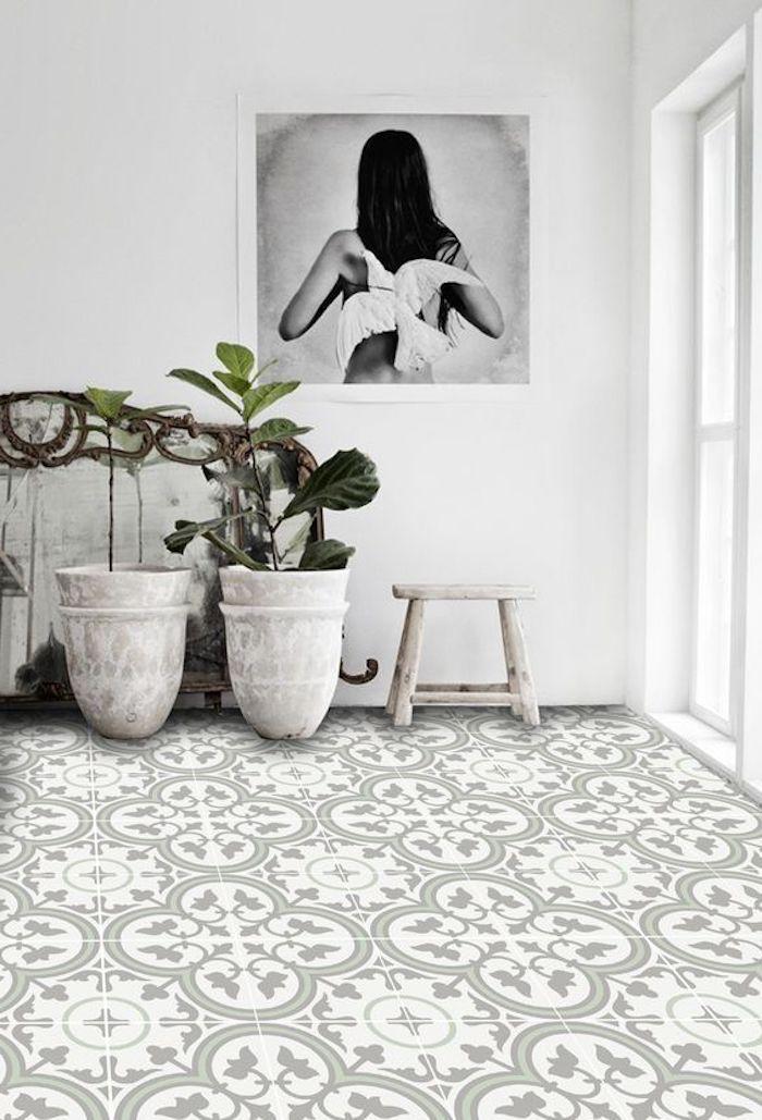 Free Shipping Tiles Pattern Decorative Pvc