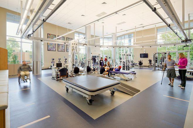 Craig Hospital 03 Hospital Design Healthcare Design Rehab Center