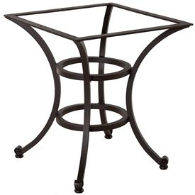 Base For Table LogiaPictured Is The Inch Square Palisades - 44 inch square coffee table