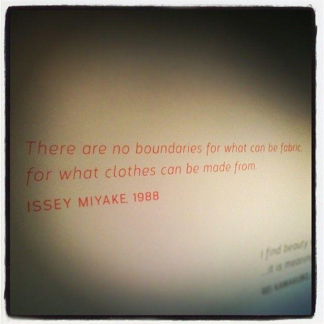 From Instagram's lemeika: #quote #inspirational #futurebeauty #fashionexhibit #pem #peabodyessexmuseum