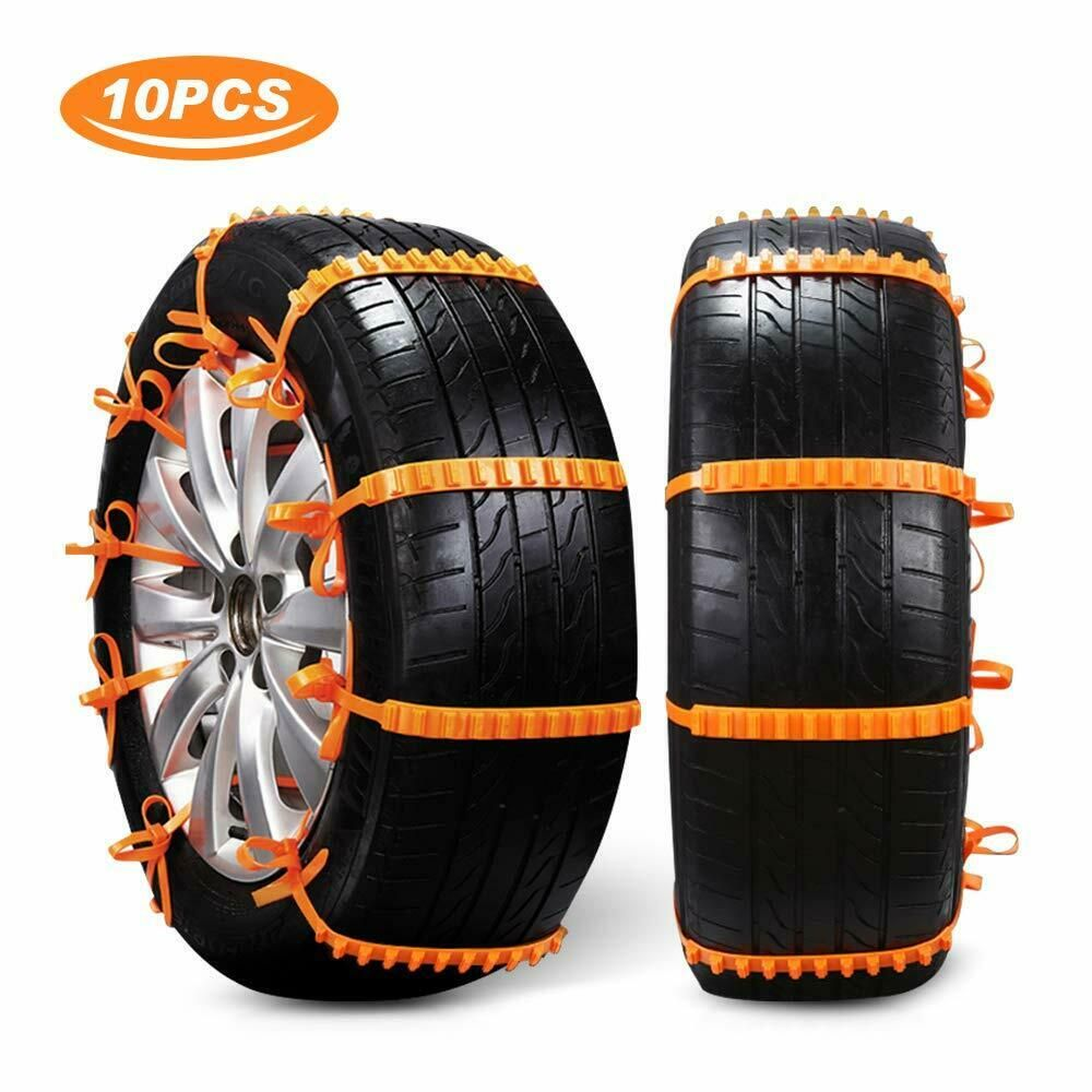 Anti snow chains for car 10pcs universal winter car tyre