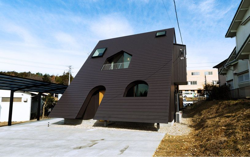The 19 Most Interesting House Designs | Unusual houses, House and ...