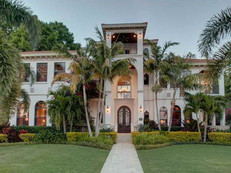 Beautiful Houses in Florida with large design