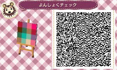 Check Pattern Animal Crossing Qr Qr Codes Animal Crossing Qr Codes Animals